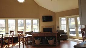 Paddle Hut Interior